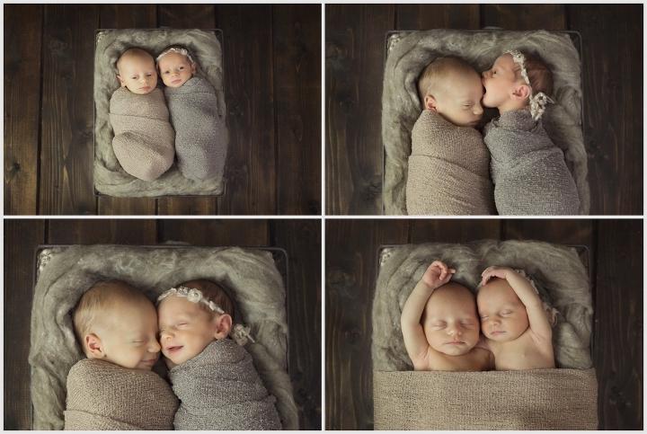 Sawyer & Savannah | Twin Photography | Leslie Amy Photography | Little Rock Newborn Photographer