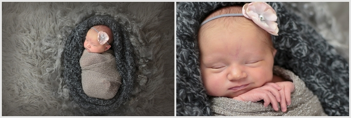 Quinn, 8 Days Old | Leslie Amy Photography | Conway Newborn Photographer