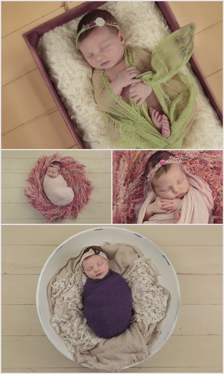 Olivia, 8 days old | Leslie Amy Photography | Conway Newborn Photographer