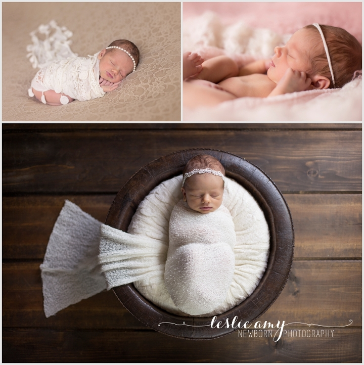 Adalie, 8 Days Old | Leslie Amy Photography | Little Rock Newborn Photographer