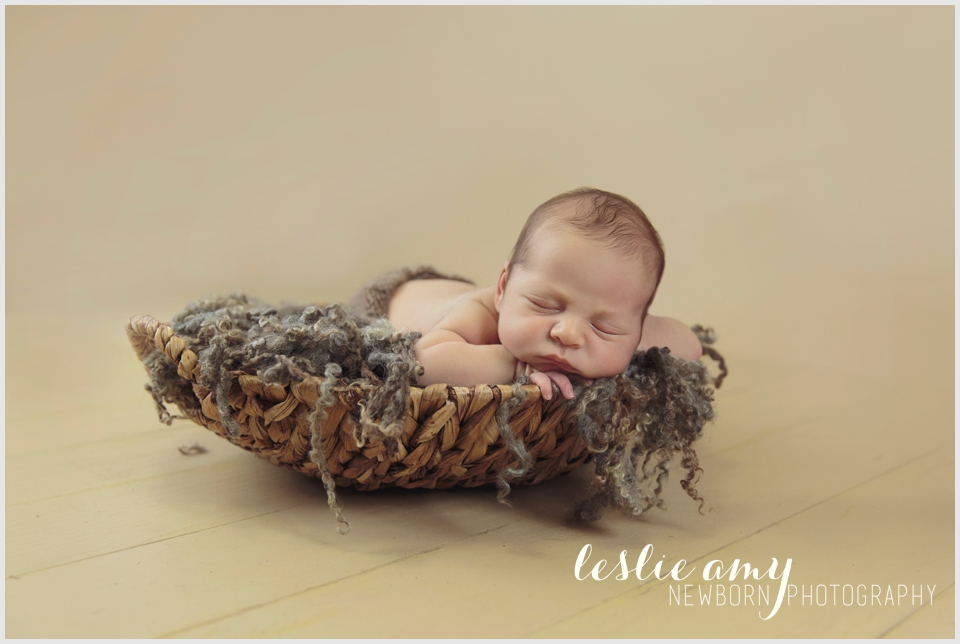 Isaac, 14 Days Old | Leslie Amy Photography | Conway Newborn Photographer