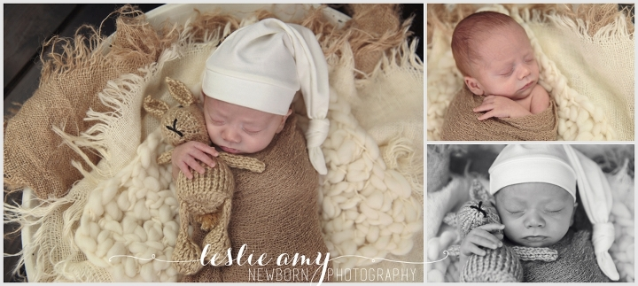 Tristan | 10 Week Old Preemie | Leslie Amy Photography | Conway Newborn Photographer