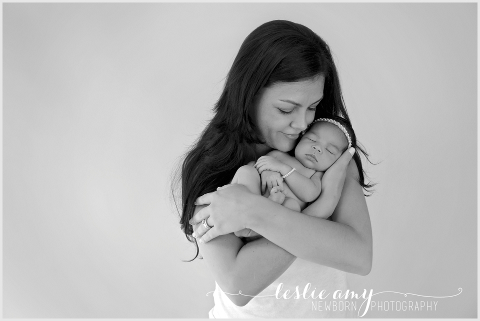 Avril, 6 Days Old | Leslie Amy Photography | Conway Newborn Photographer