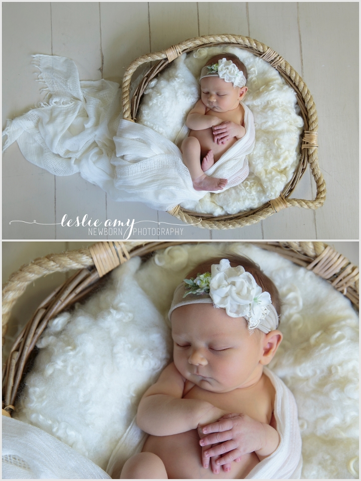 Mya Kate, 11 Days Old | Leslie Amy Photography | Little Rock Newborn Photographer