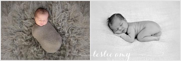 Ezra, 7 Days Old | Leslie Amy Photography | Conway Newborn Photographer
